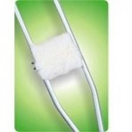 Crutch Protector Hand Kodel - Pair, White