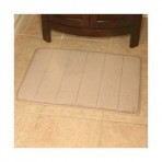 Bathroom Memory Foam Mat 17x24 (Small) - Pink