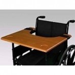 Wheelchair Tray - Brown