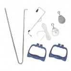 Exerciser Pulley Set - Exercise Equipment Arm, Door Exercise Equipment