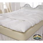 Feather Bed Cover With Zip Closure - King