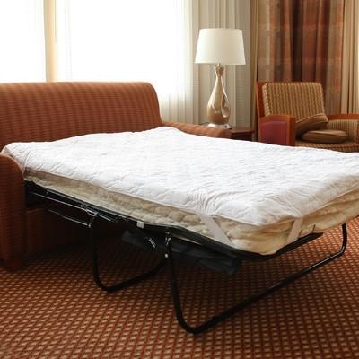 "Hudson Industries Memory Foam Sofa Bed Pillow-Top Mattress Pad Full - 54"" x 72"" at Sears.com"