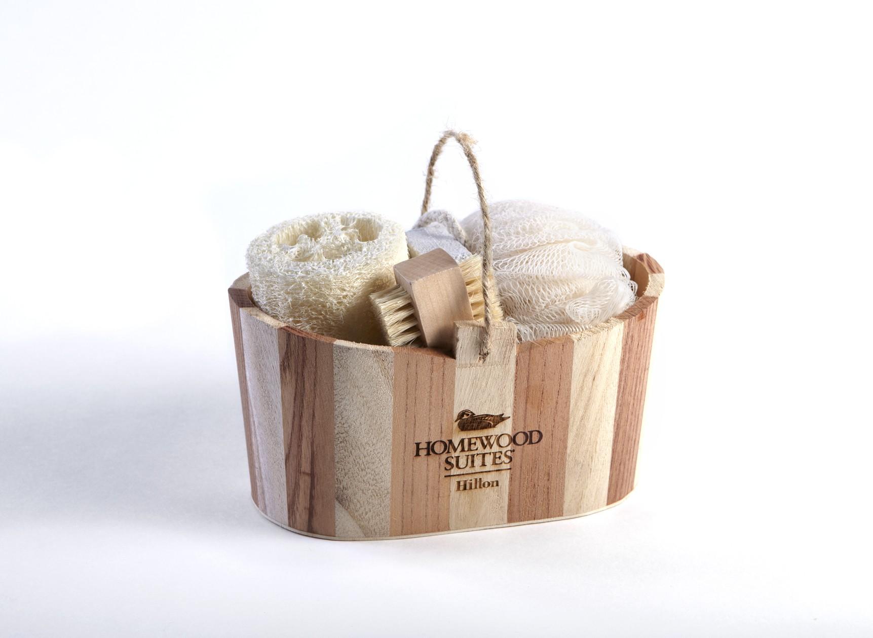 wooden tub spa gift set. Black Bedroom Furniture Sets. Home Design Ideas