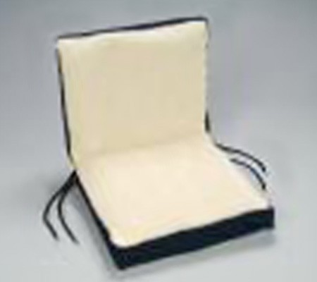 Hermell Dual Comfort Chair Cushion - Seat size is 16 x 18 x 4 - Back Size is 16 18 ...