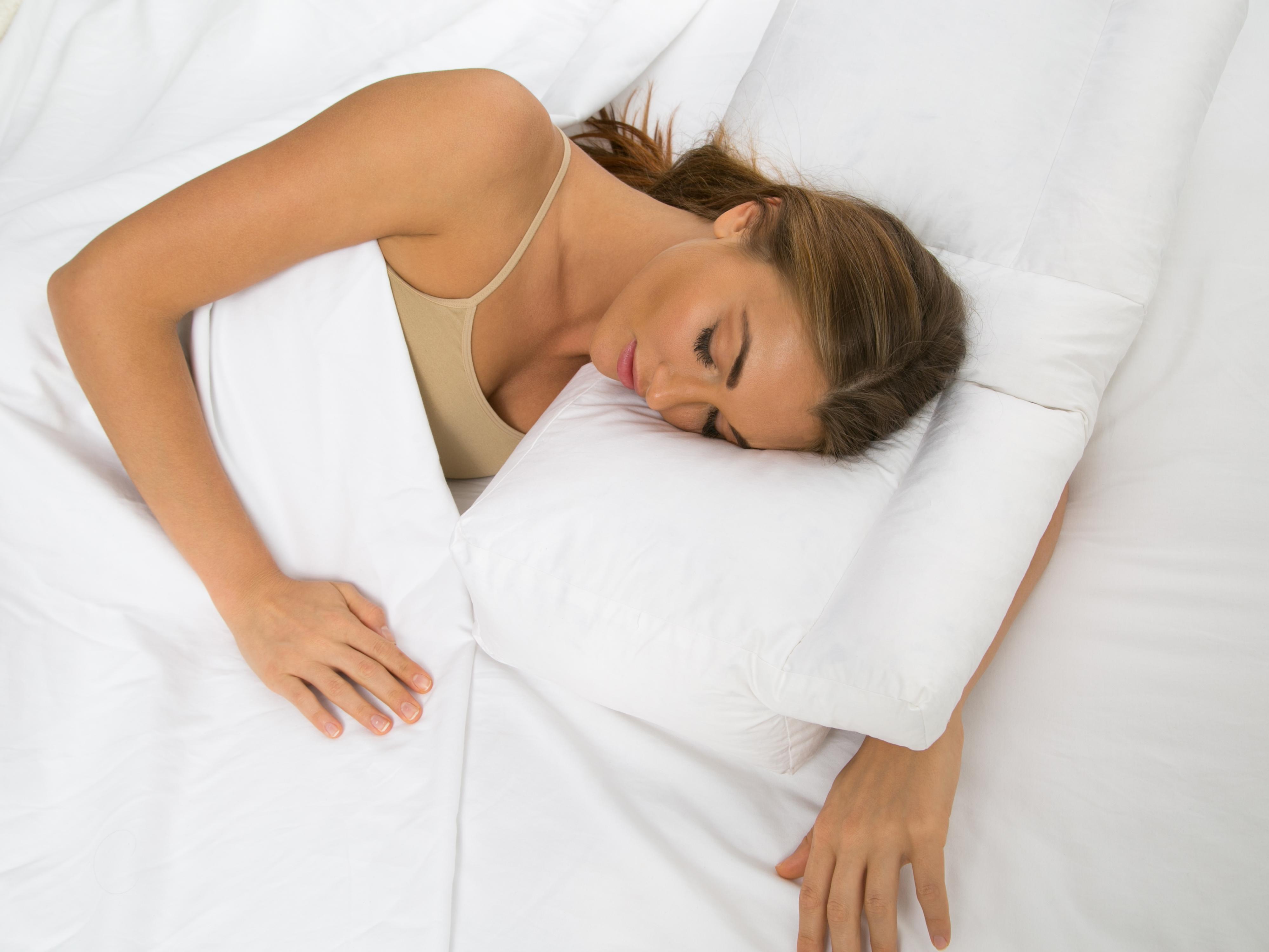 Better Sleep Pillow Gel Fiber Fill Pillow Sleeping W
