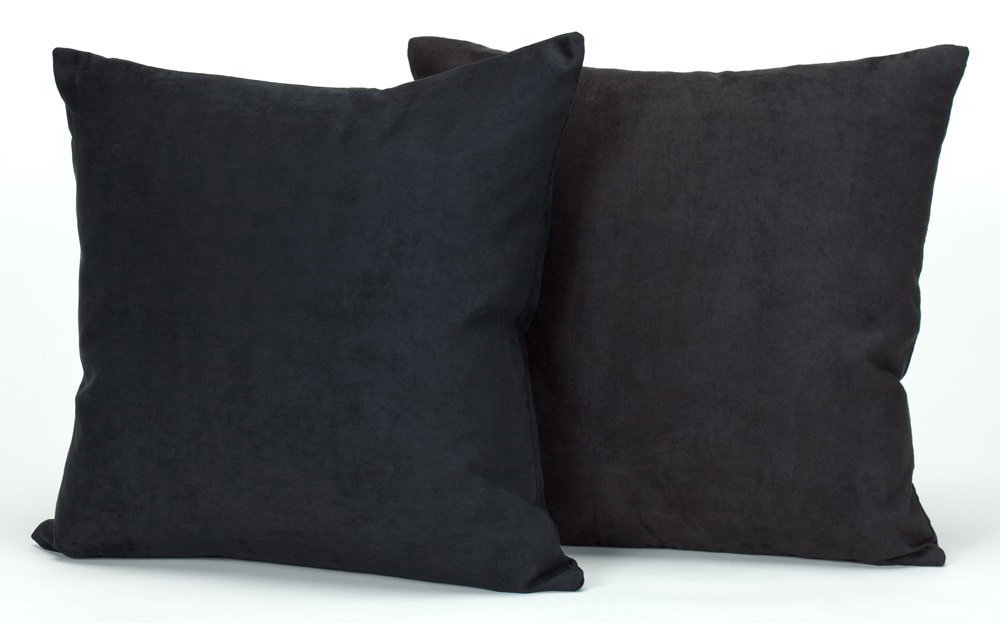 Down Throw Pillows For Couch : Microsuede Couch Pillows / Set of 2 Throw Pillows, 18 X 18 In- Down & Feather eBay