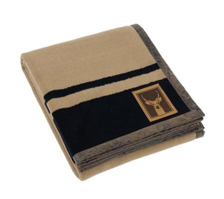 Kanata Blanket2 Heritage Vicuna Throw - 50x60 - Camel
