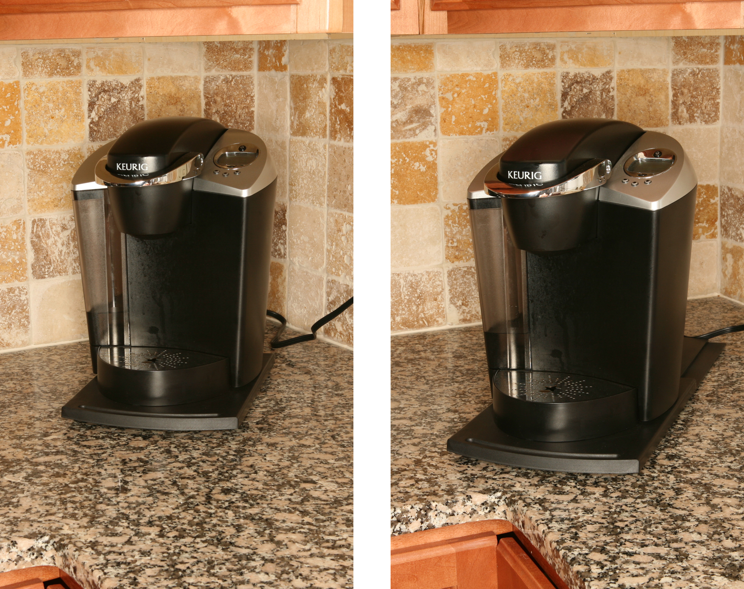 Sliding Shelf Caddy Pull Out Liance Tray To Reach Coffee Maker Toaster