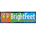 Bright Feet Lighted Slippers