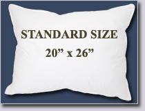 pillow sizes