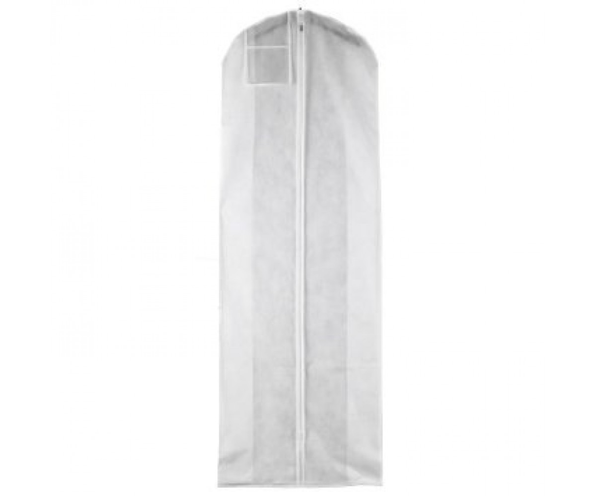 white breathable wedding dress gown garment bag extra