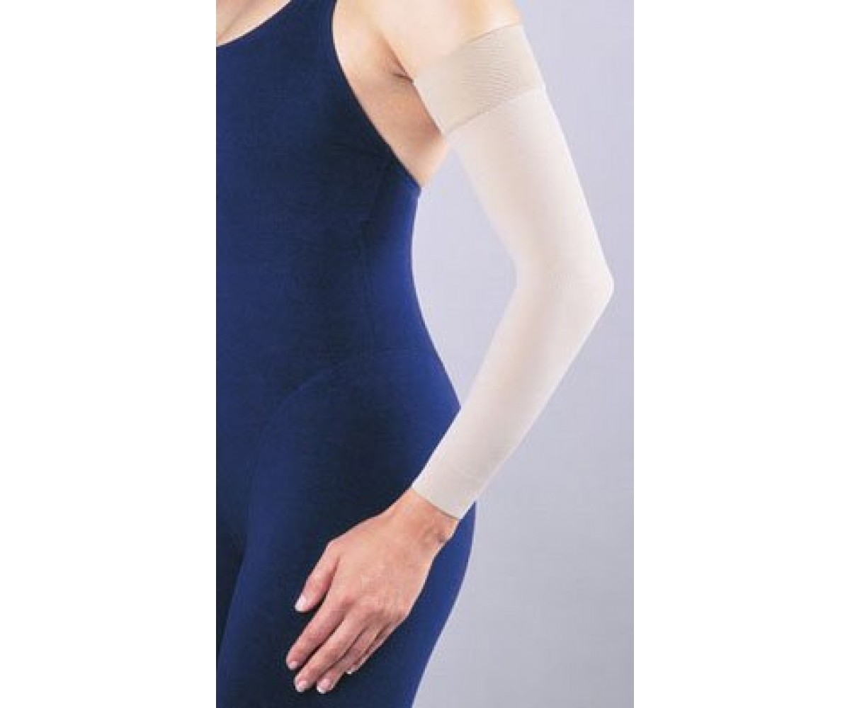 Jobst Arm Sleeve W 2 Silicone Top Band 20 30 Mmhg