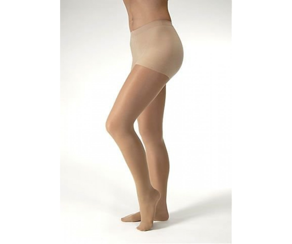 Jobst Ultrasheer Pantyhose 20 30 mmHg Firm Support, Silky Beige - XL