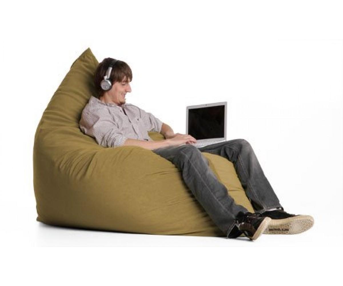 Jaxx Sac Beanbag Chair - Camel