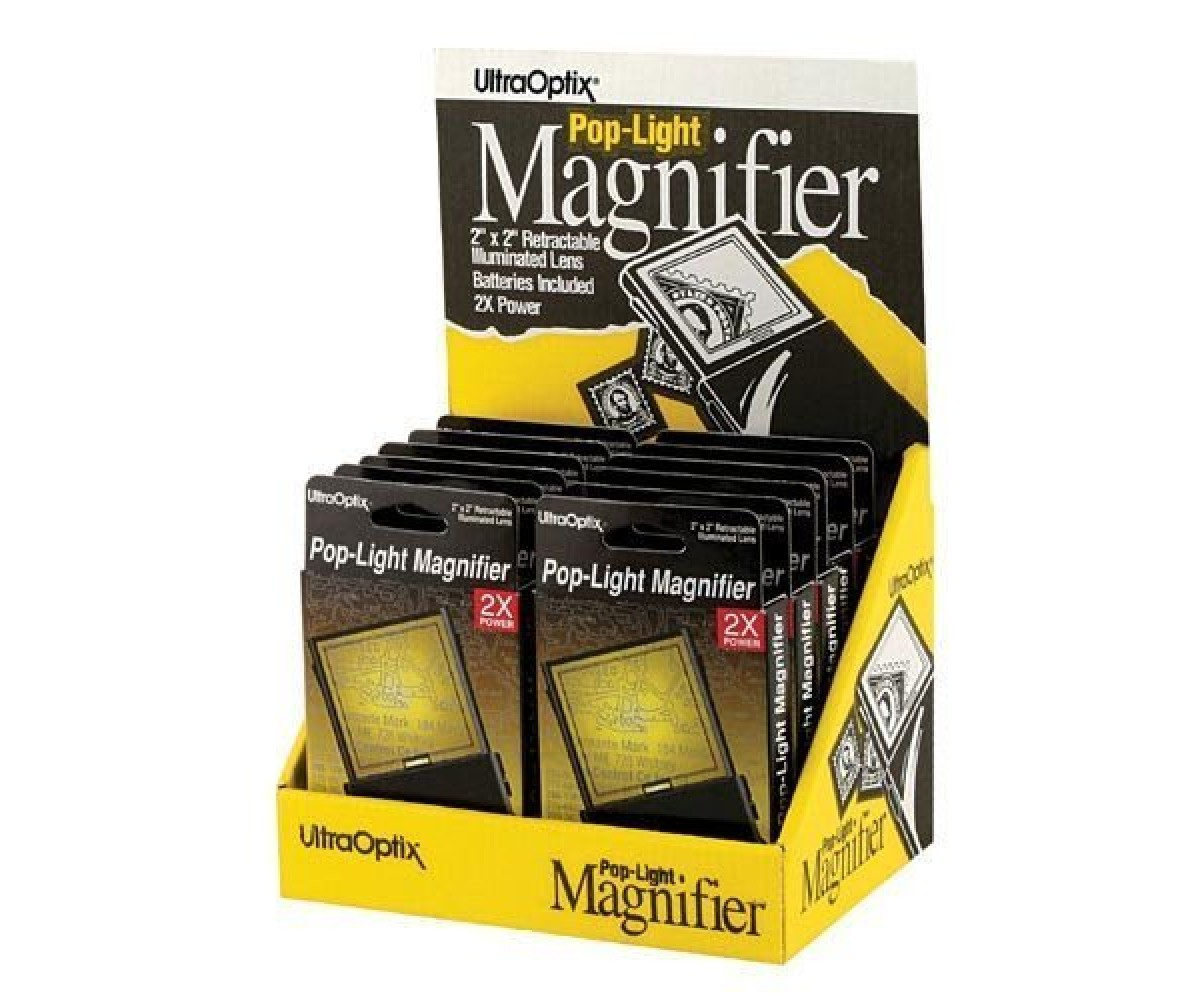 Magnifier PopUp Display 12 pcs