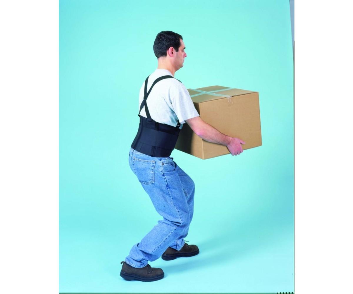 """9"""" Industrial Back Belt wSuspenders"""