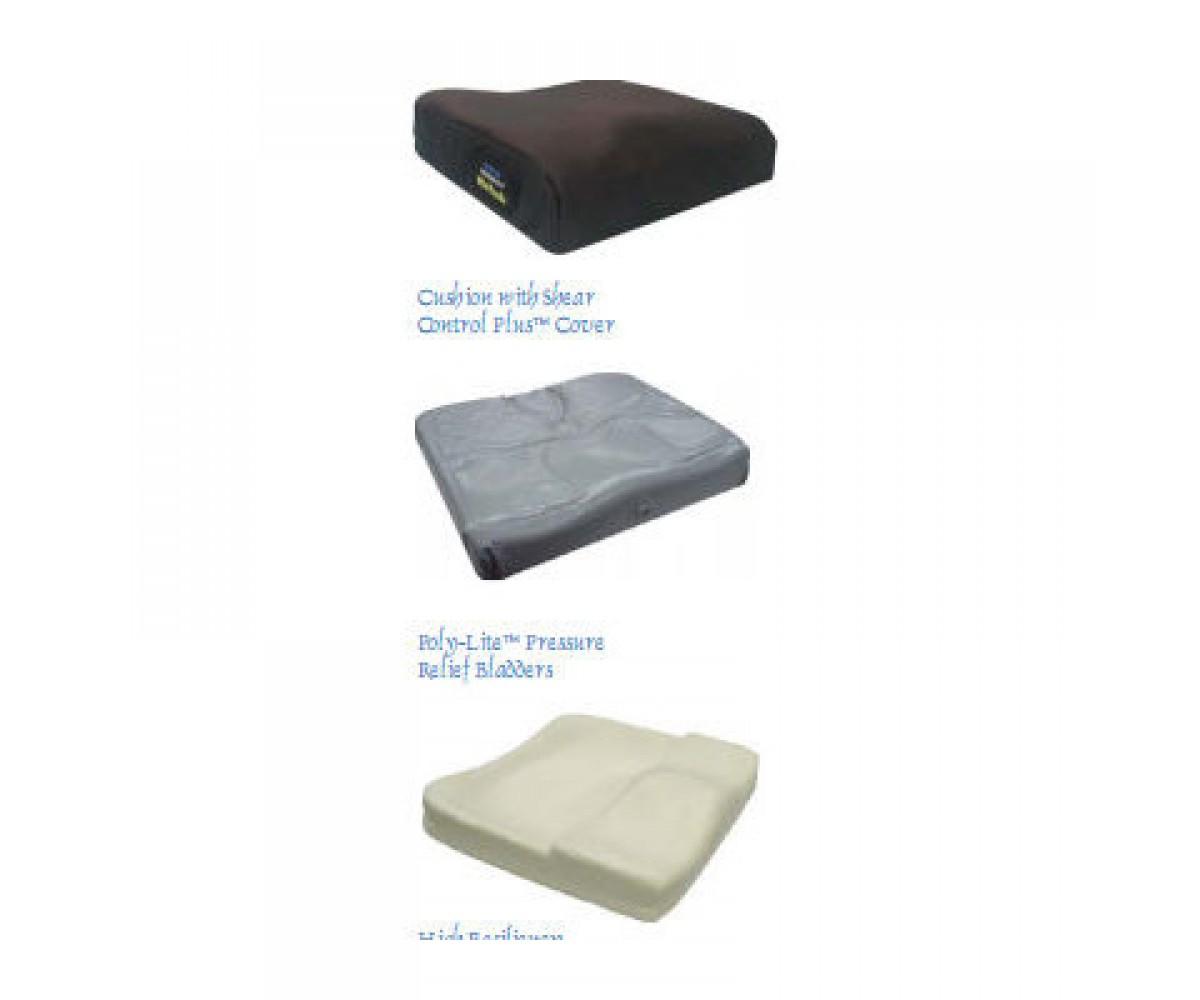 """Pressure Eez 3"""" Rehab Adjustable Cushion - 3"""" x 18"""" x 18"""""""