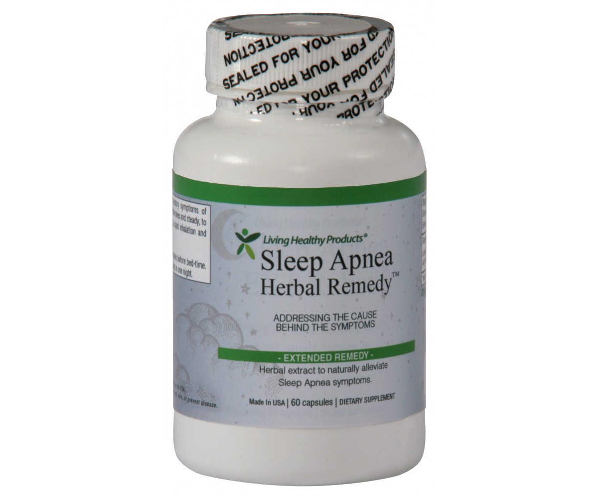 Herbal Sleep Apnea Relief