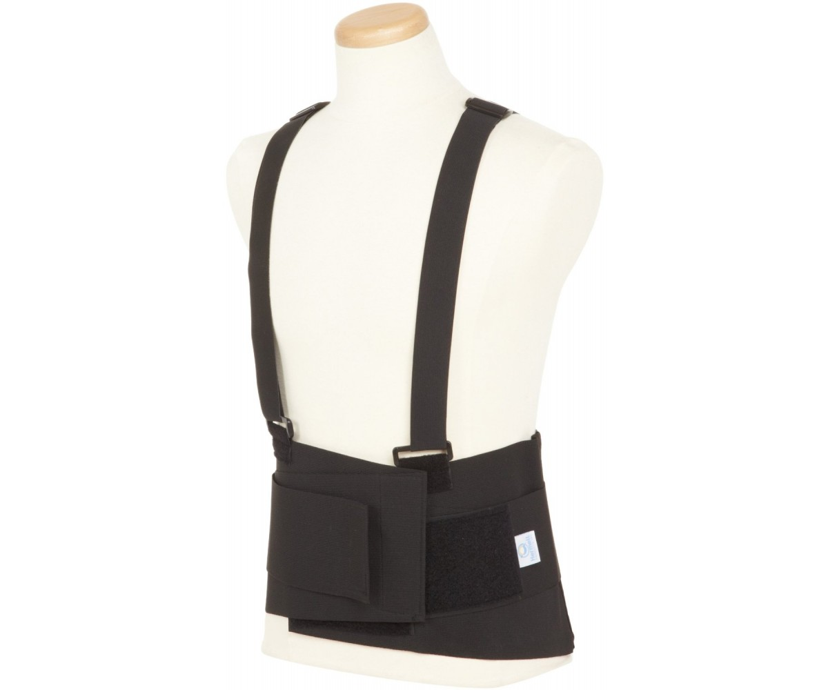 "9"" Industrial Back Belt wSuspenders"
