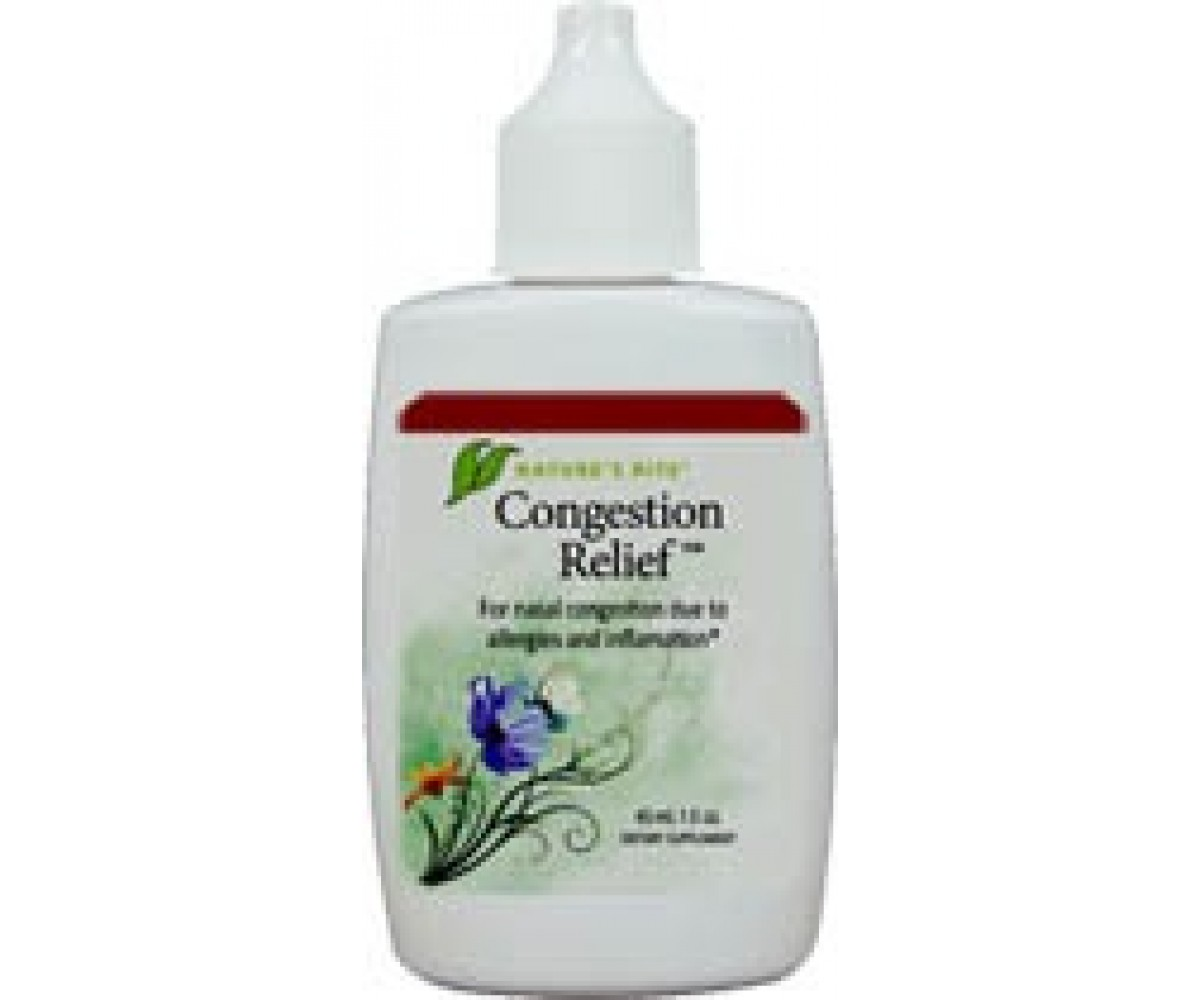 Congestion Relief  Spray