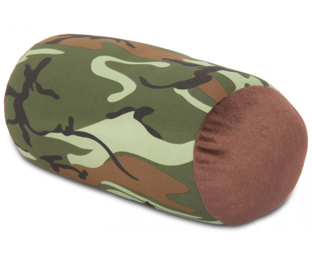 Camouflage Microbead Pillow Neck Roll Bolster Pillows
