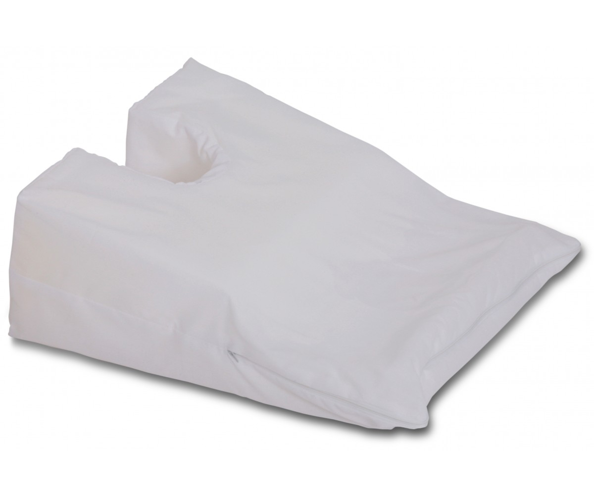 Stomach sleeper face down pillow large 14 x 29 x 6 to for Best down pillows for stomach sleepers