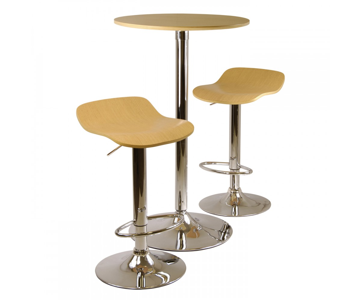 Winsome Wood 933 Kallie Table Stools Pub Set