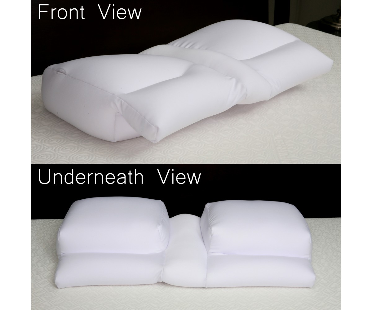 microbead arm tunnel pillow