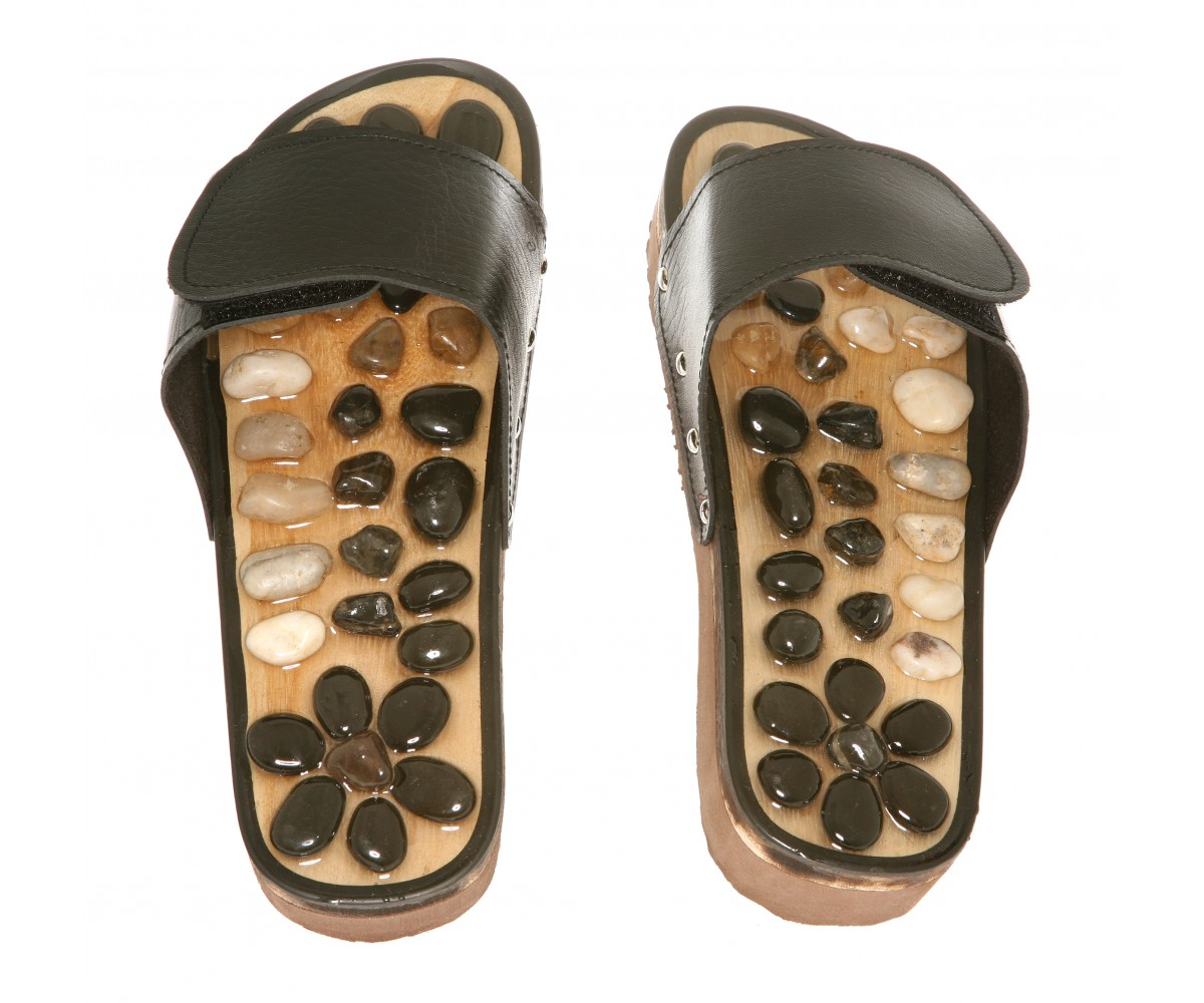 Stone Massage saddles- Reflexology Slipper