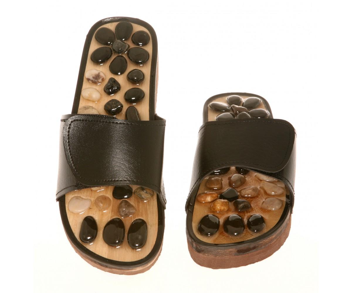 Stone Massage - Reflexology Slipper