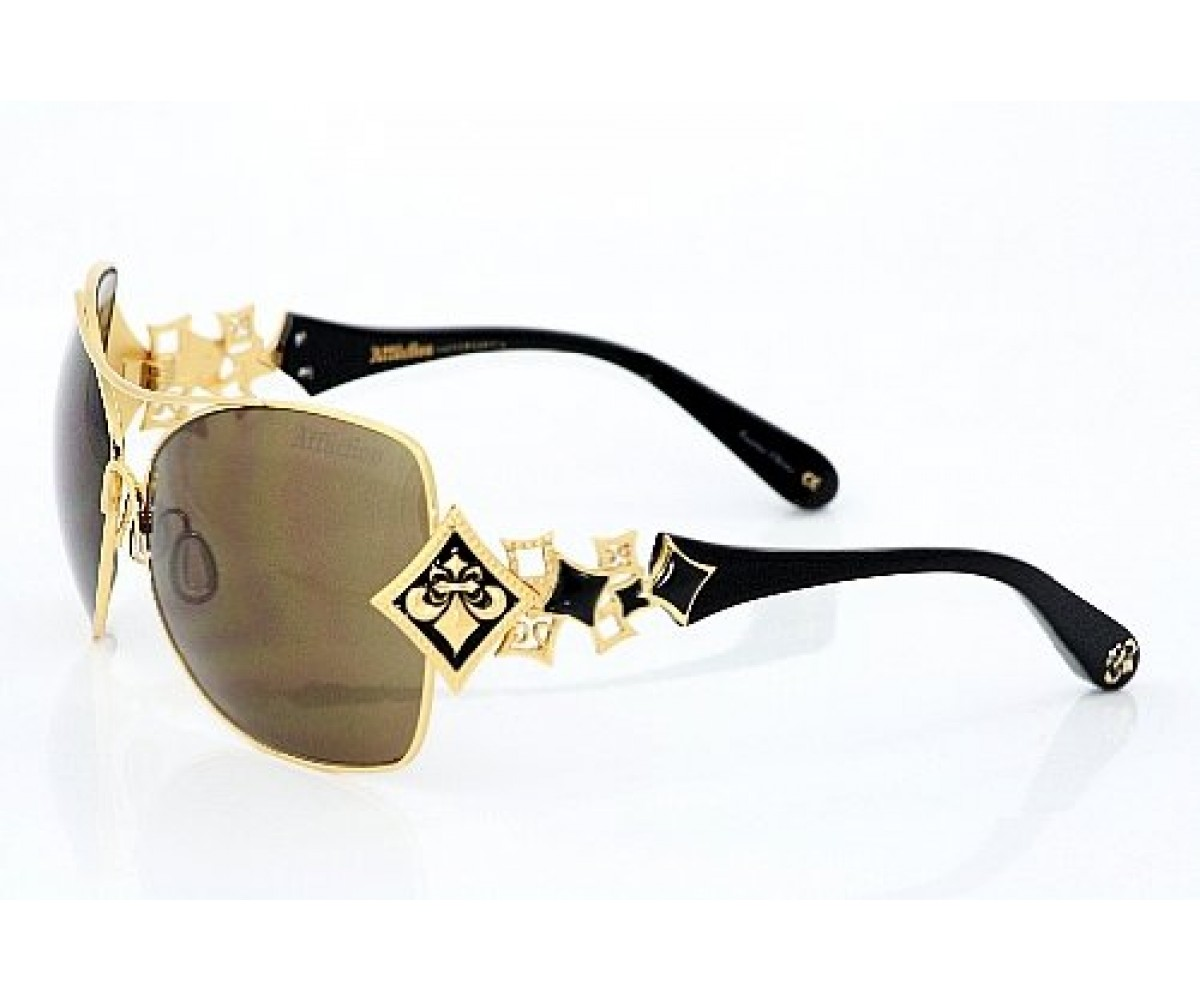 Affliction Sunglasses Angelina Antique Gold