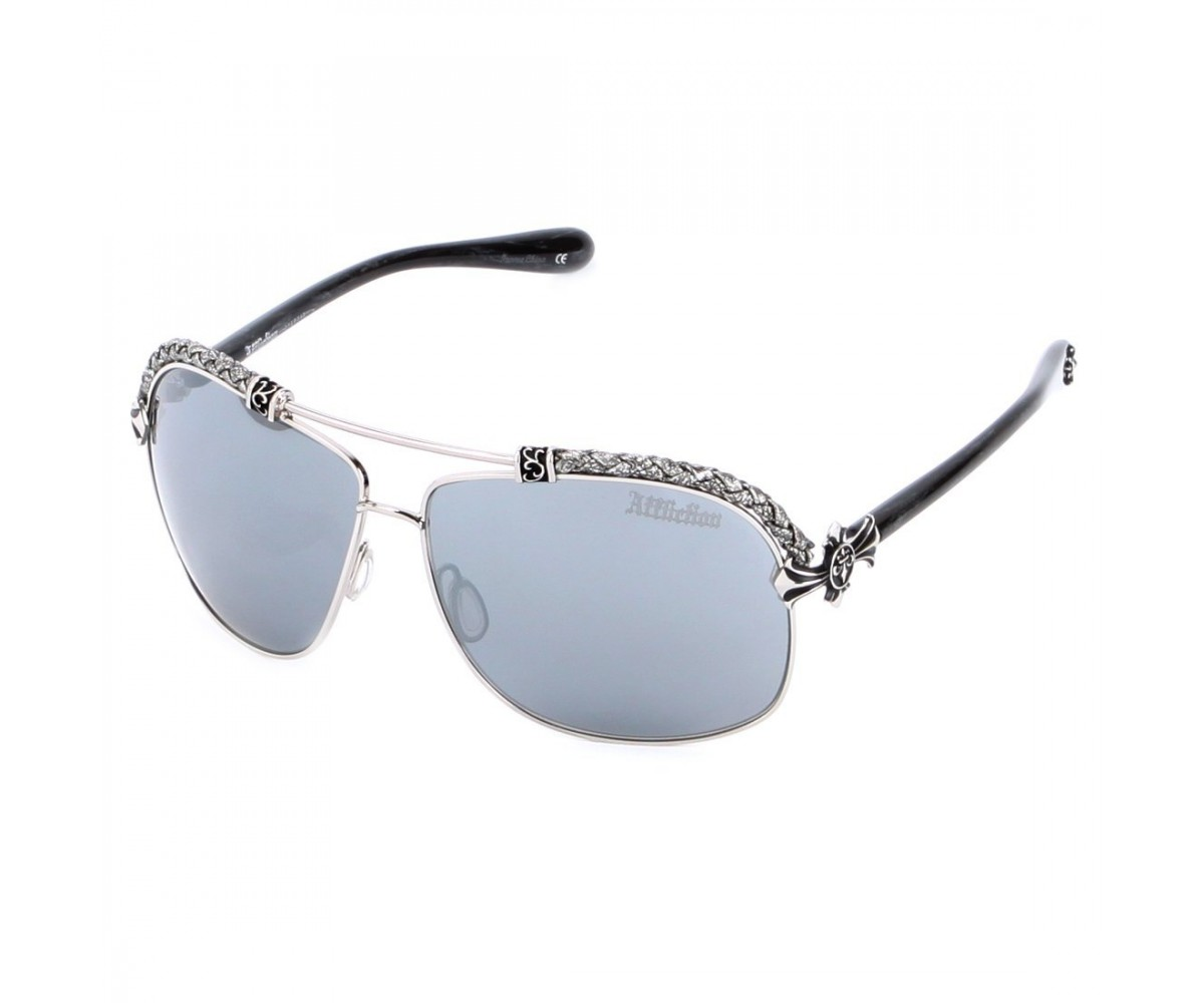 Affliction Sunglasses BAXTER-B Silver White/Silver