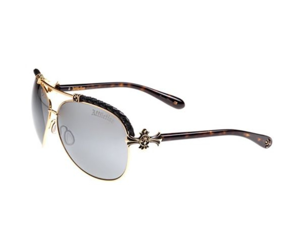 Affliction Sunglasses BAXTER-B Tortoise/Gold
