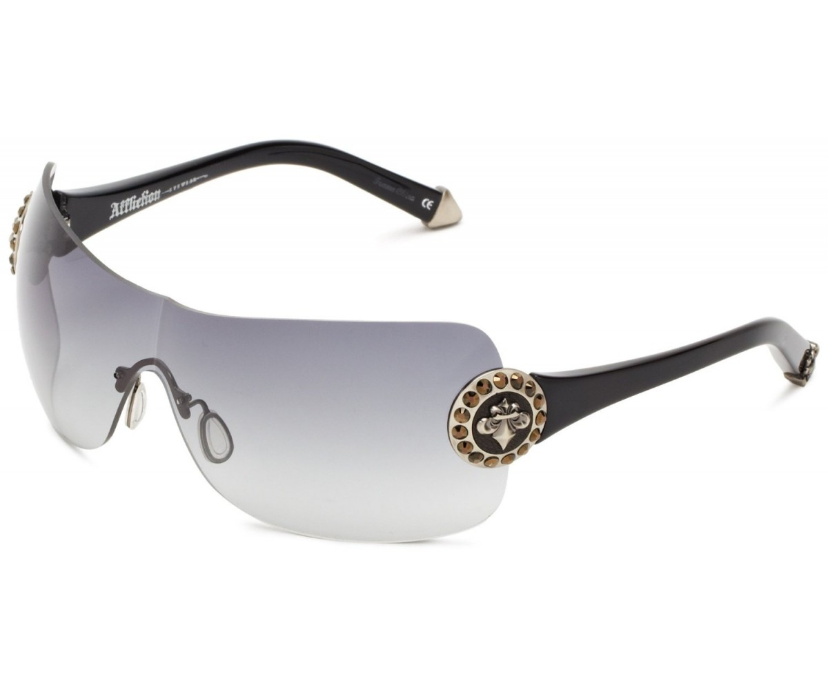Affliction Sunglasses Griffin Black & Brown