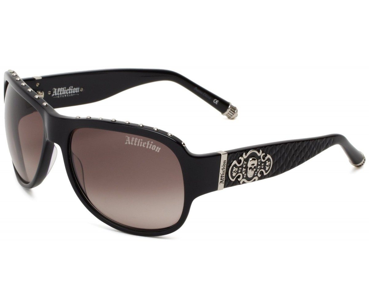 Affliction Sunglasses Raven Black/Silver