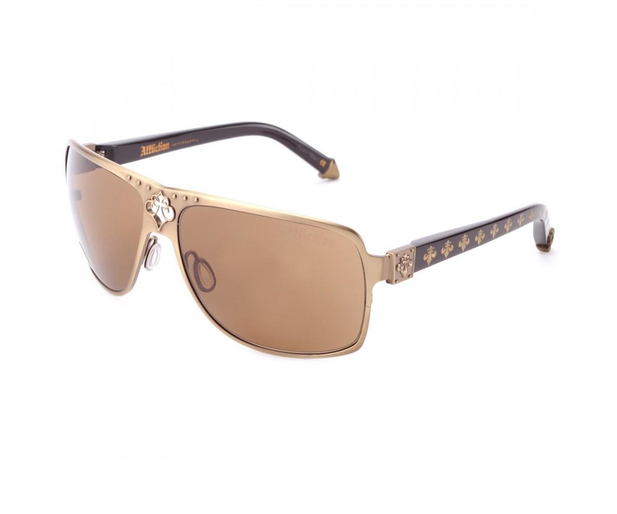 Affliction Sunglasses Rebel Pale Gold/Gold