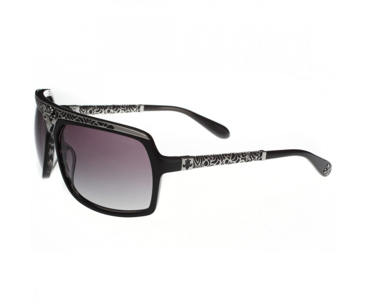 Affliction Sunglasses Talon Black/Silver