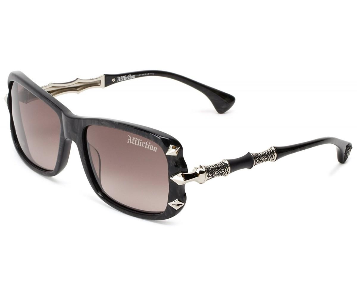Affliction AFS ZIVANA Sunglasses Black/Silver