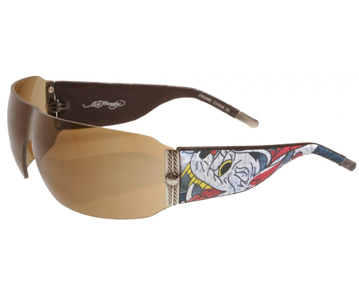 EHS-010 Wolf Sunglasses - Tortoise/Brown