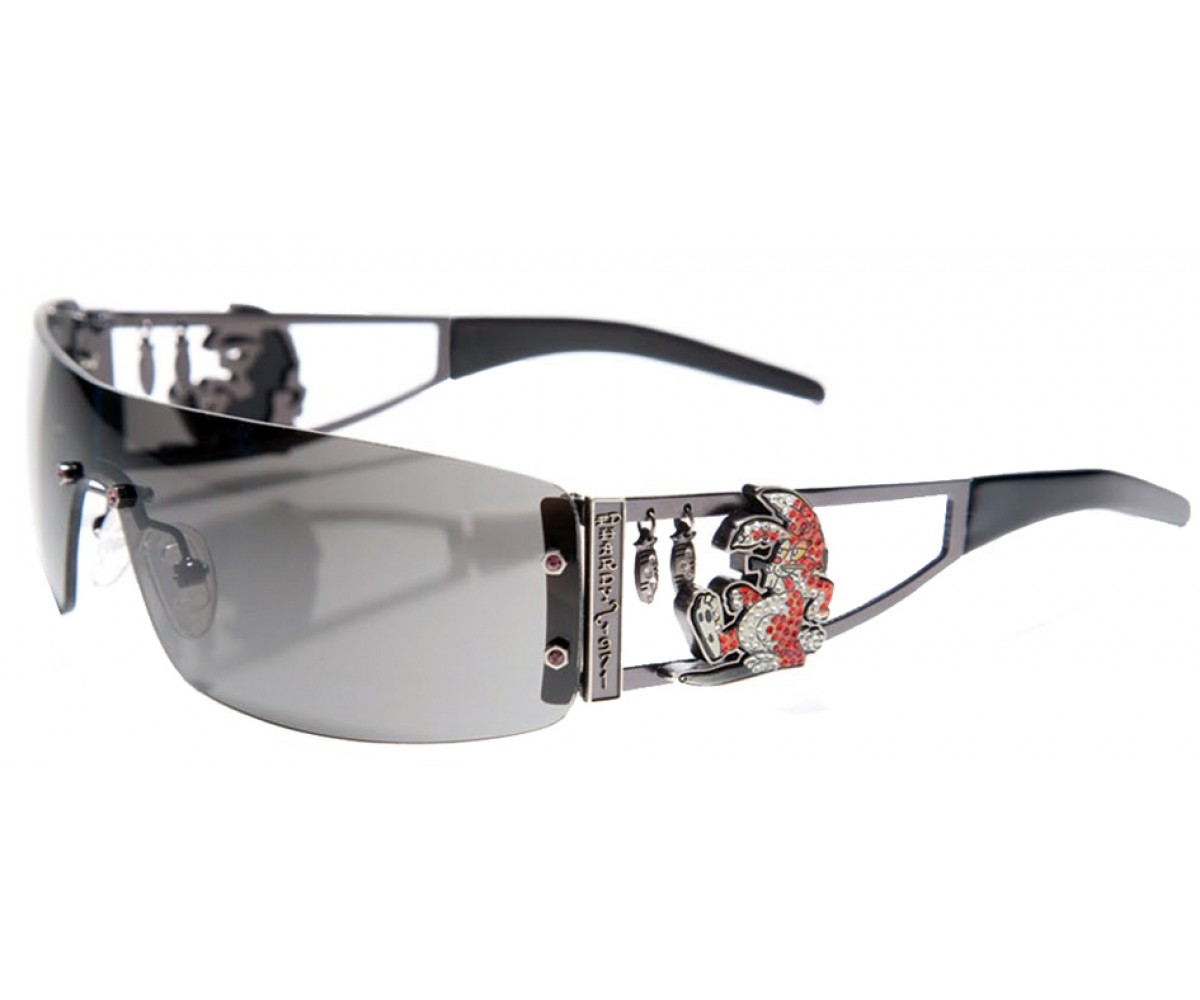 EHS-026 Rabbit Sunglasses - Black/Gray