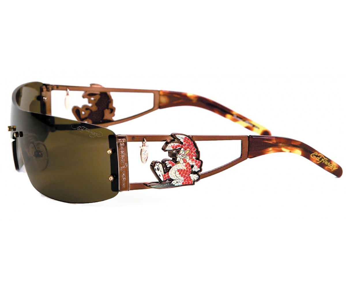 EHS-026 Rabbit Sunglasses - Cocoa/Brown