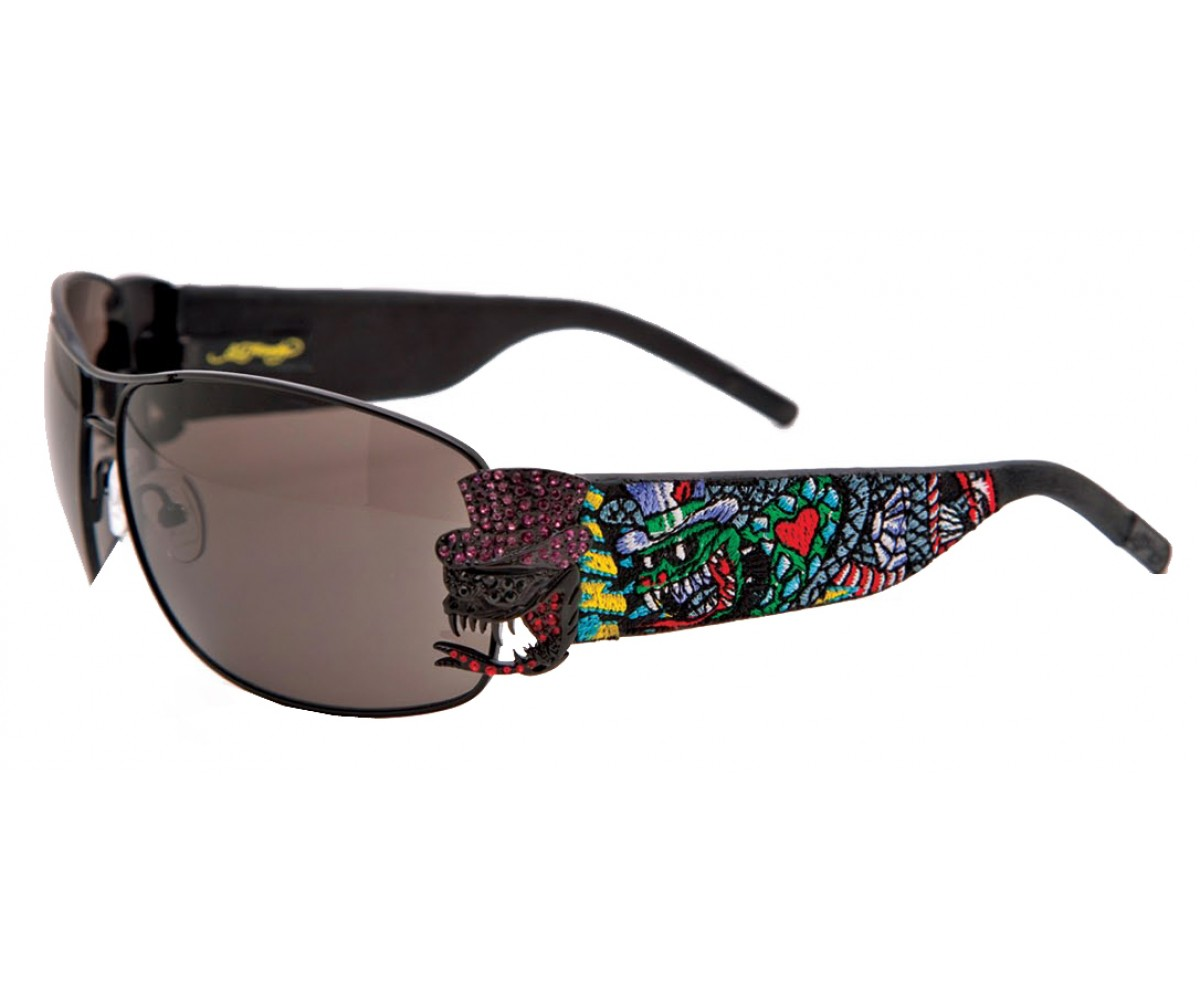 EHS-034 Crunk Rock Sunglasses - Black/Gray