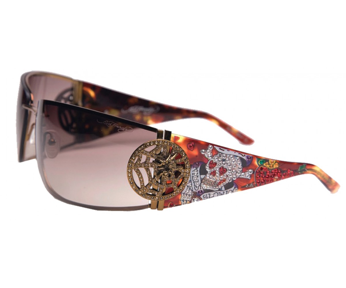 EHS-039 Love Kills Slowly 3 Sunglasses - Tortoise/Brown