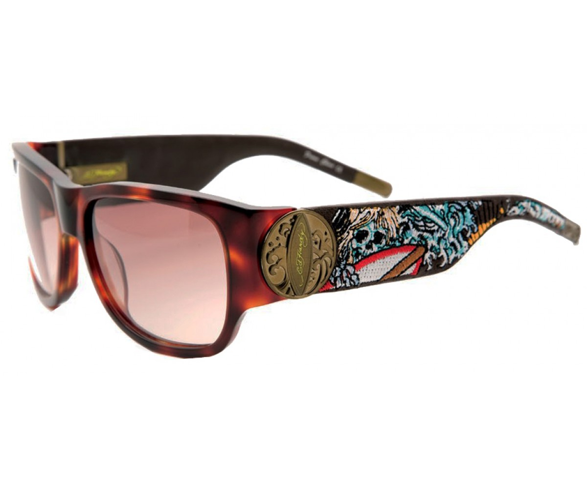 EHS-040 Surf or Die Sunglasses - Tortoise
