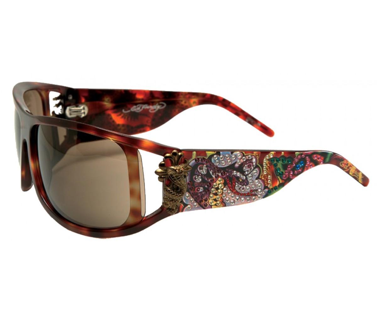 EHS-046 Snakes & Roses Sunglasses - Tortoise