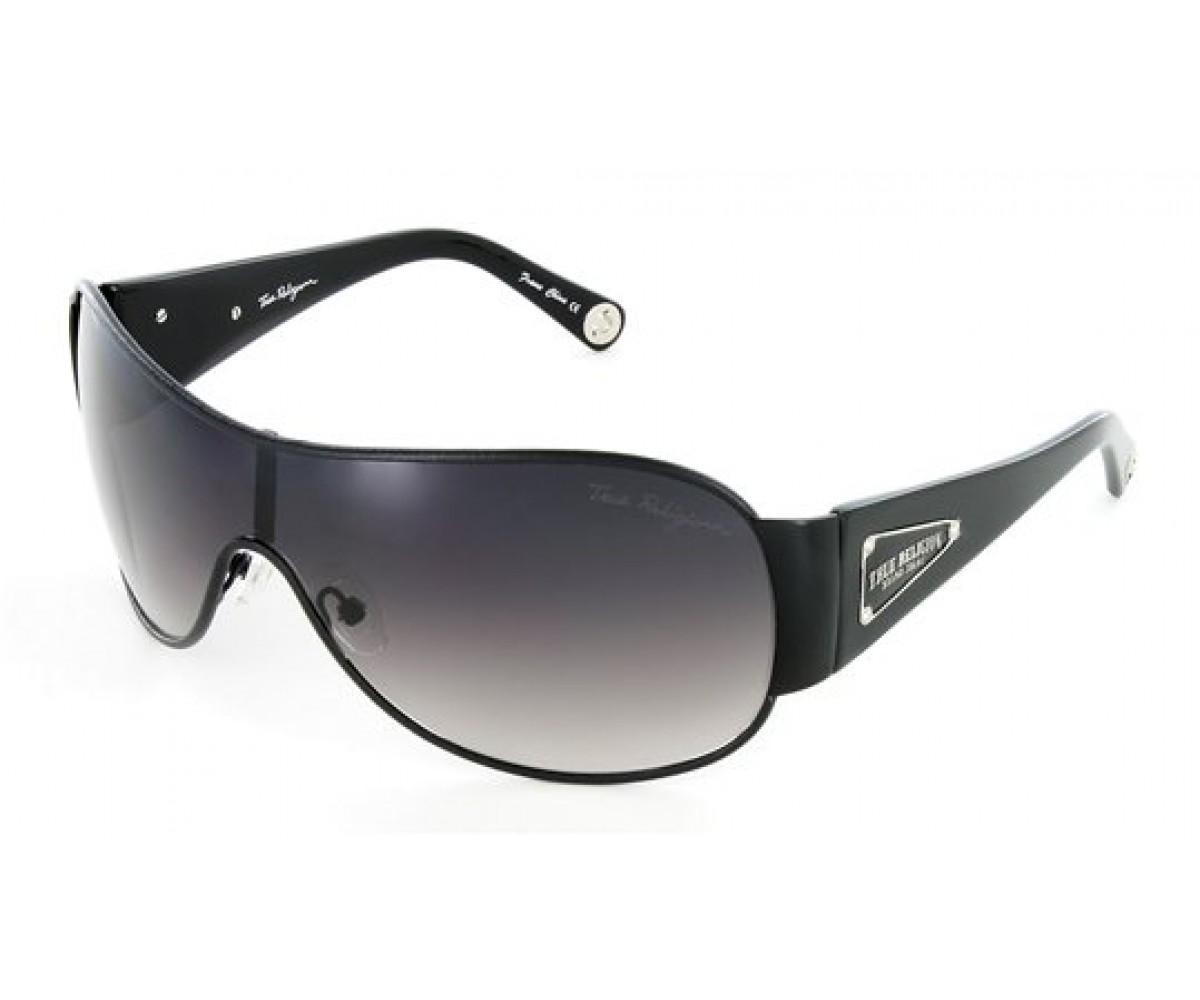 True Religion ASHTON Sunglasses Black Black With Grey Gradient