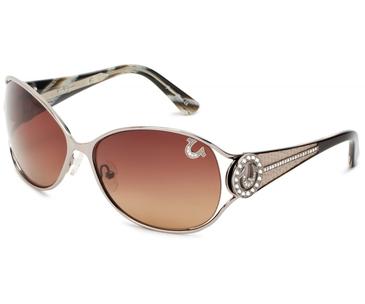True Religion Jackie Sunglasses Gunmetal