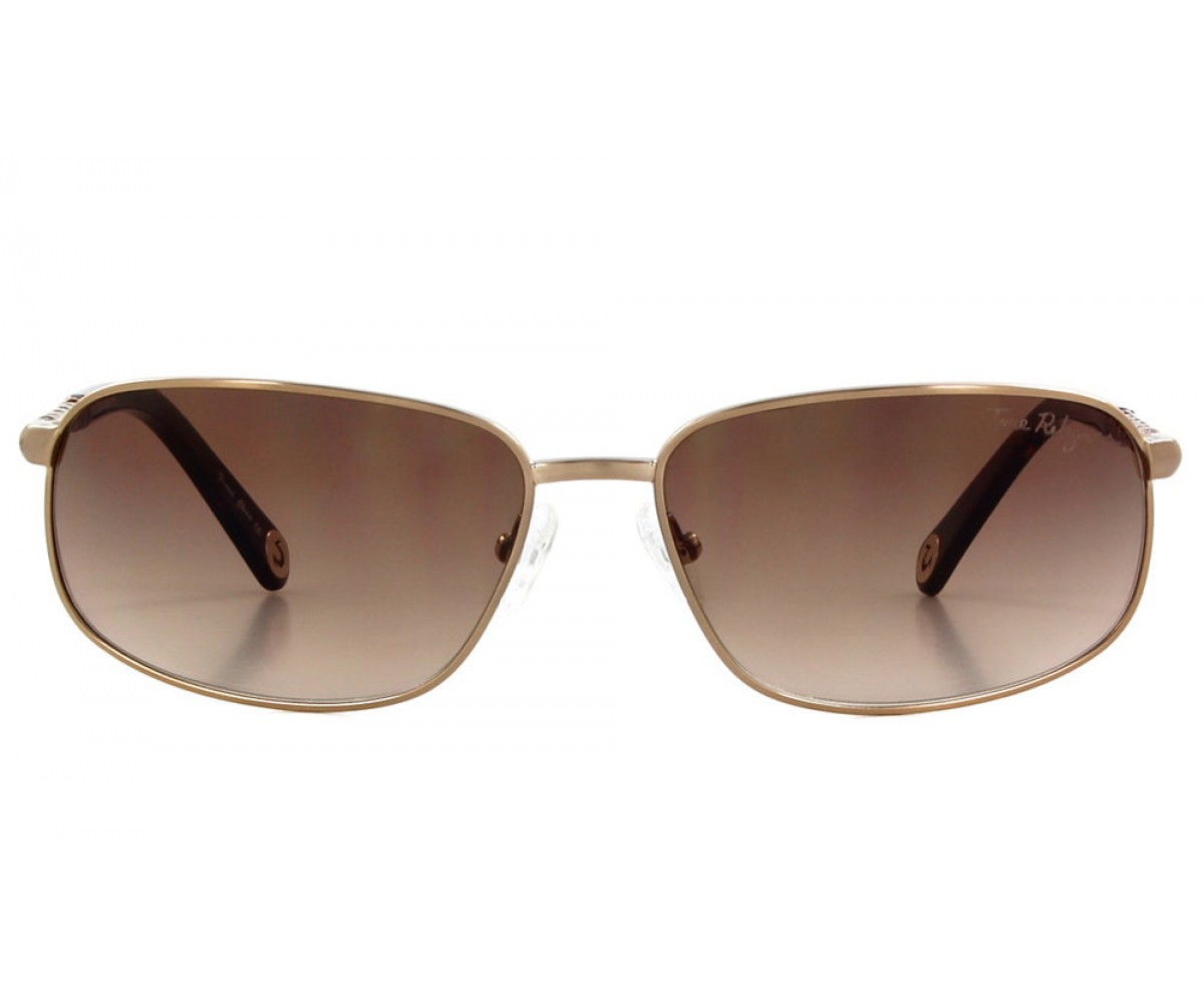True Religion RILEY Sunglasses Matte Gold