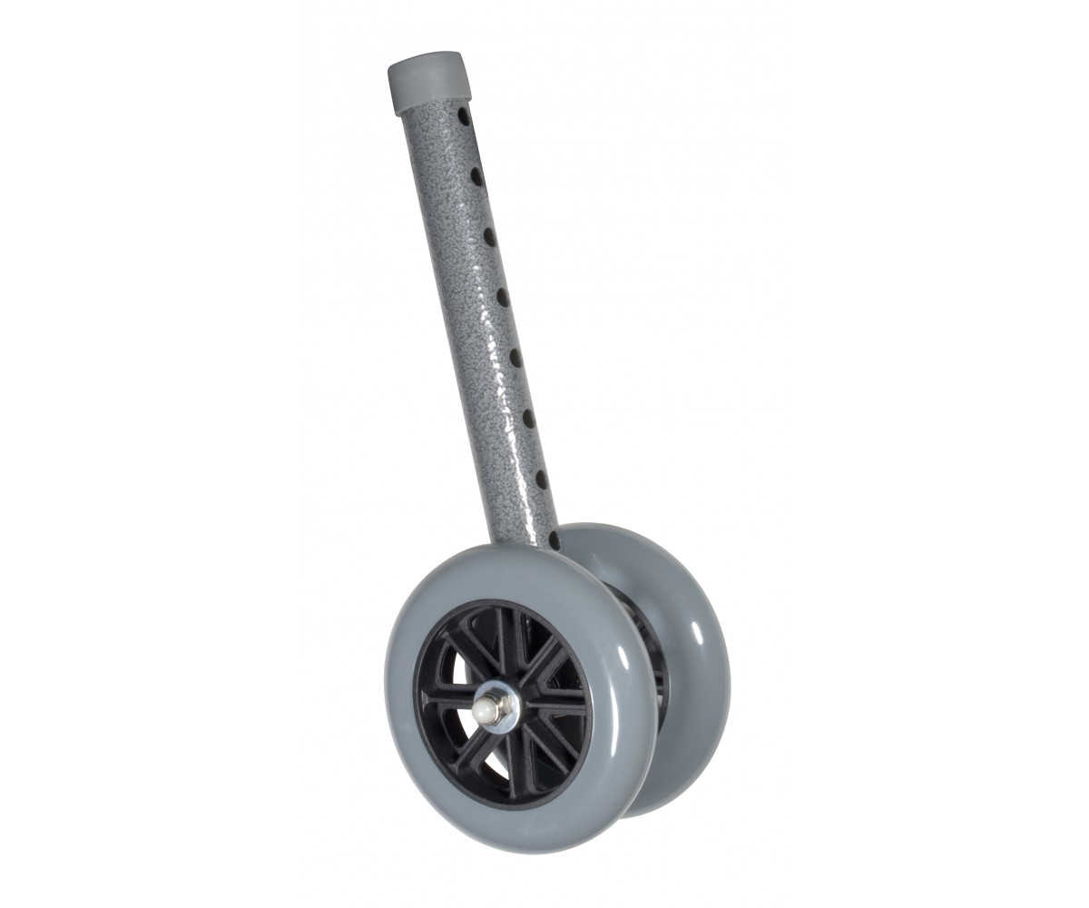 "Heavy Duty Bariatric 5"" Walker Wheels"