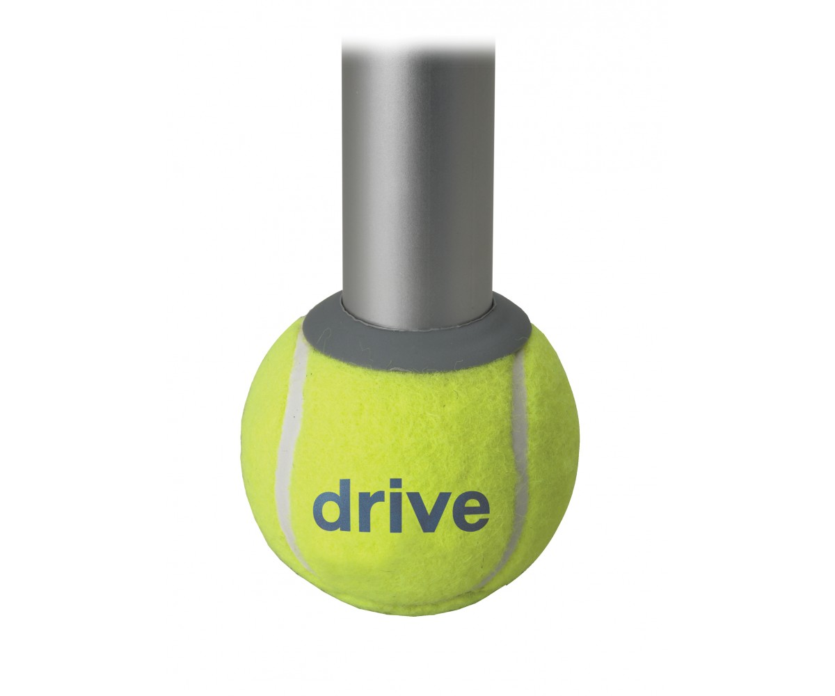 Walker Rear Tennis Ball Glides with Additional Glide Pads